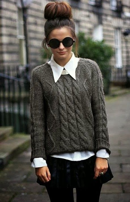 свитер оверсайз кэжуап