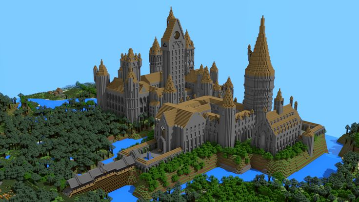 Minecraft Castle Entrance