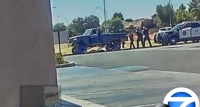 7/7/16 An eyewitness films the fatal shooting of 19-year-old Dylan Noble by Fresno police. |