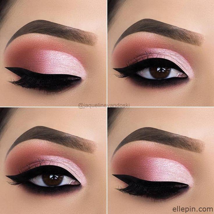 #leuchtende #Lidschattenmodelle #Light Makeup summer #Vorschlag Glowing eye shad…