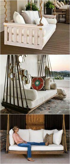 7 DIY Outdoor Swings That'll Make Warm Nights Great