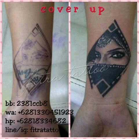 Customized#Bodyart#tattoo#ink#get inked#girl with ink#sexi look#cover up#old to new tattoo#done by @fitratattoo