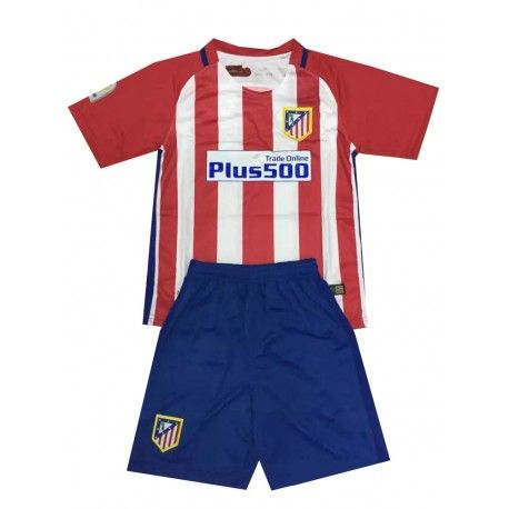 Camisetas del Atletico Madrid para Niños Home 2016 2017