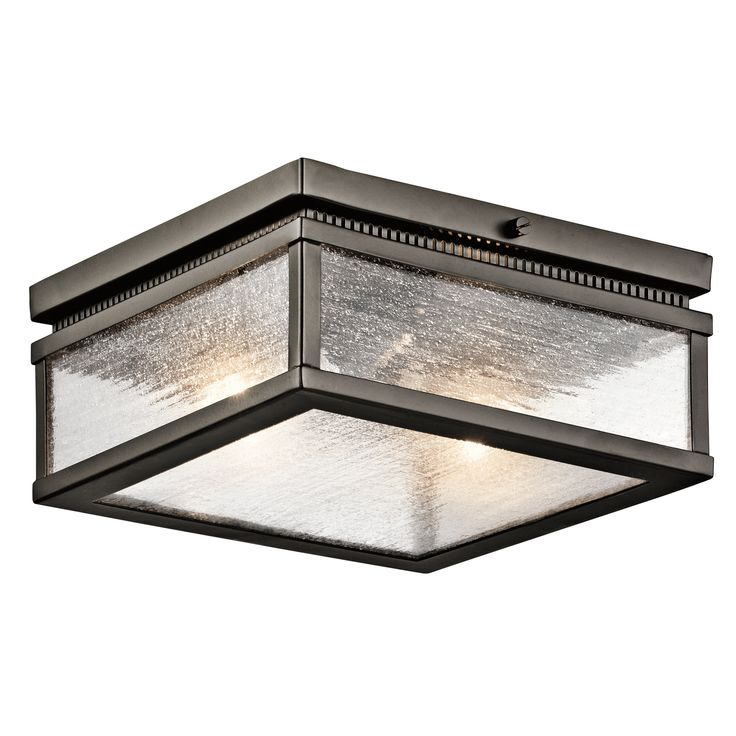 Two Light Outdoor Flush & Semi Flush Mount