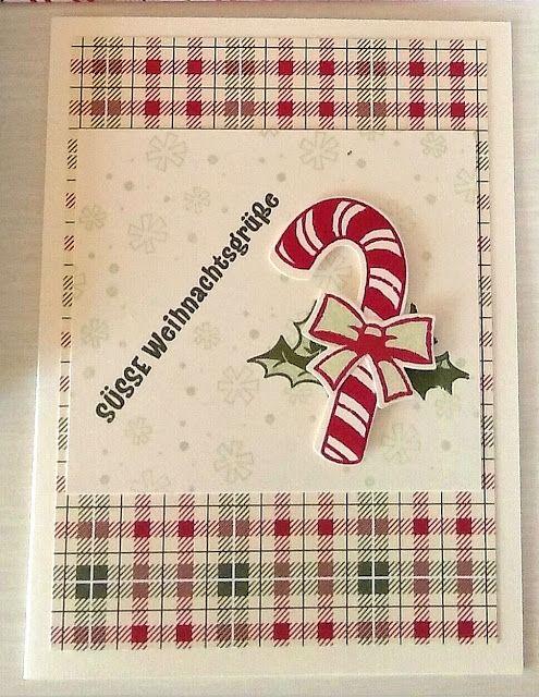 weihnachtskarte mit dem stempelset zuckers e weihnachten. Black Bedroom Furniture Sets. Home Design Ideas
