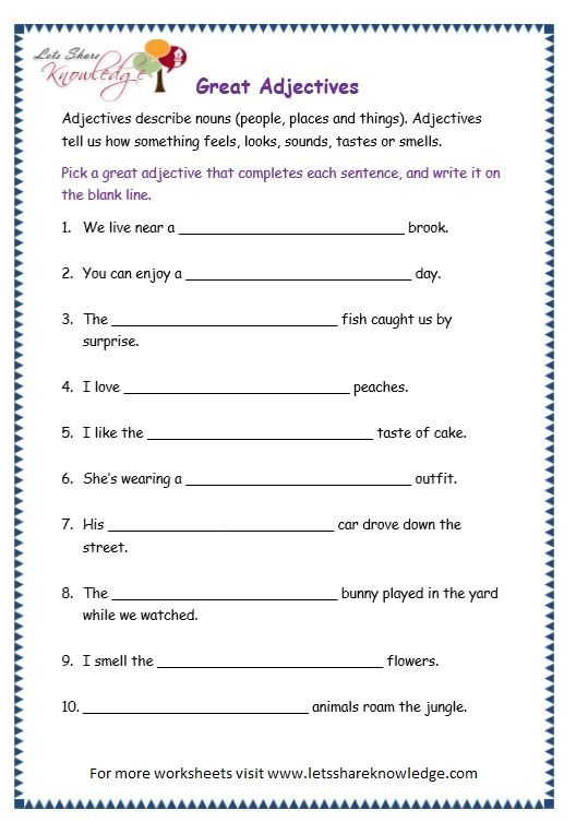 page 10 adjectives worksheet teaching english adjective worksheet worksheets 10 adjectives. Black Bedroom Furniture Sets. Home Design Ideas