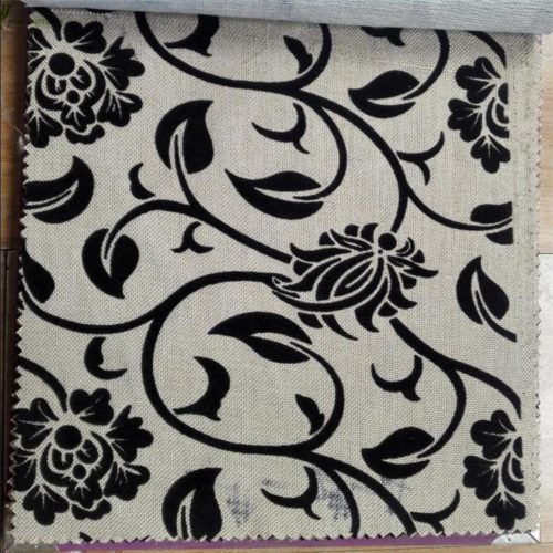 15 best Traditional flocked fabric for sofa covers flower design