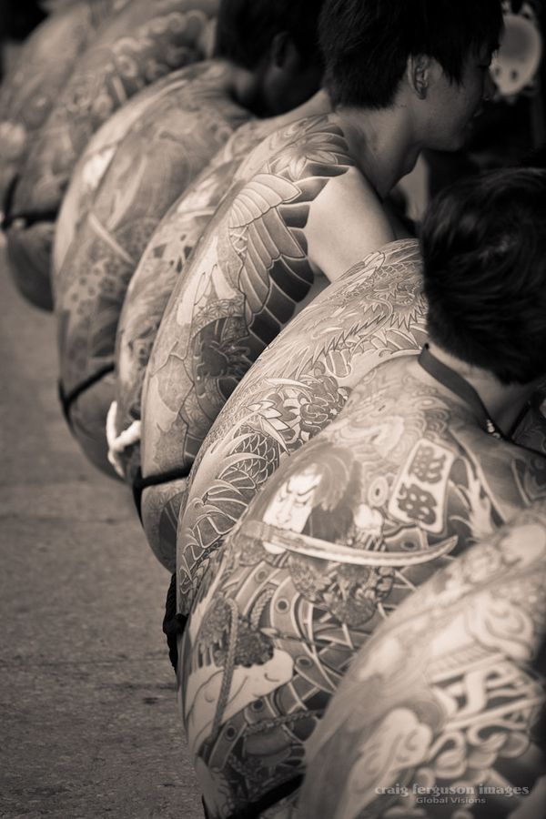 Japanese irezumi. A full Japanese-style body suit tattoo covering the back, chest, upper arms and legs can cost US$ 30000 and take up to 5 years to complete.