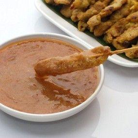 Ароматный арахисовый соус для мяса на гриле