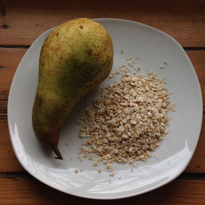 Receta de Galletas de avena para bebés con de puré de pera - Comidas saludables para bebés