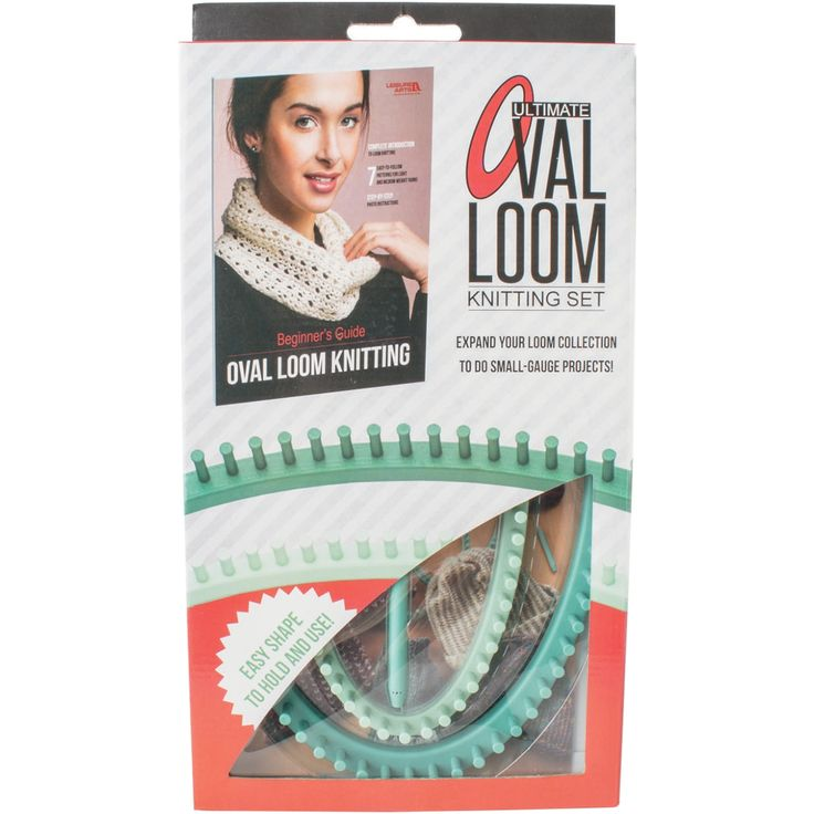Leisure Arts Ultimate Oval Loom Knitting Set For Beginners-