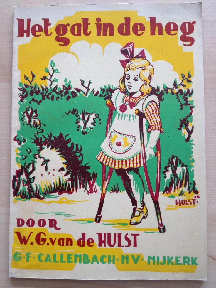 Leesboekje uit mijn jeugd jaren 60: Het gat in de heg van W.G. van de Hulst