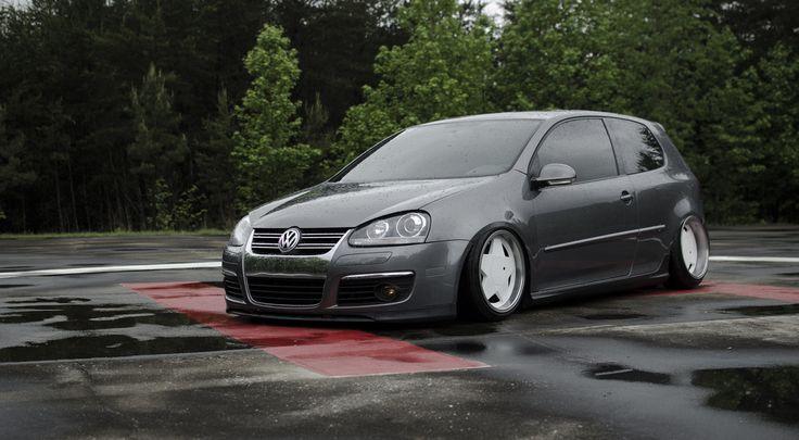 """17"""" Borbet Type A wheels on a bagged VW GTI   Borbet Wheels   Pinterest   Wheels on and Wheels"""