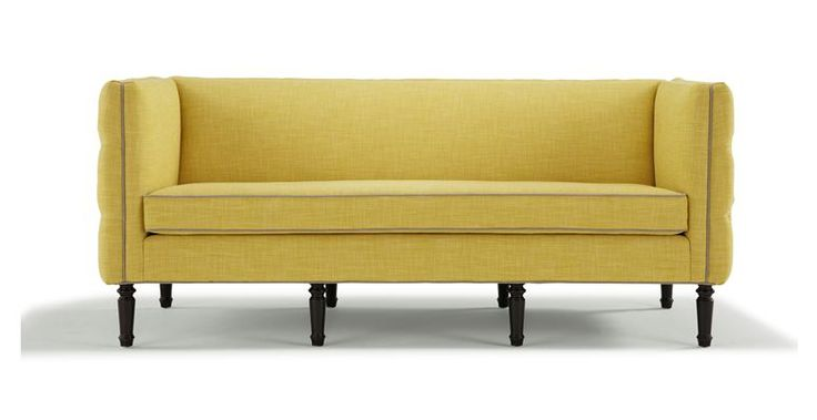 Mitchell Gold Bob Williams Maxine Sofa with tufted sides and back