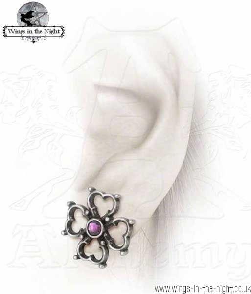 Alchemy Gothic Elizabethan Cross Earrings