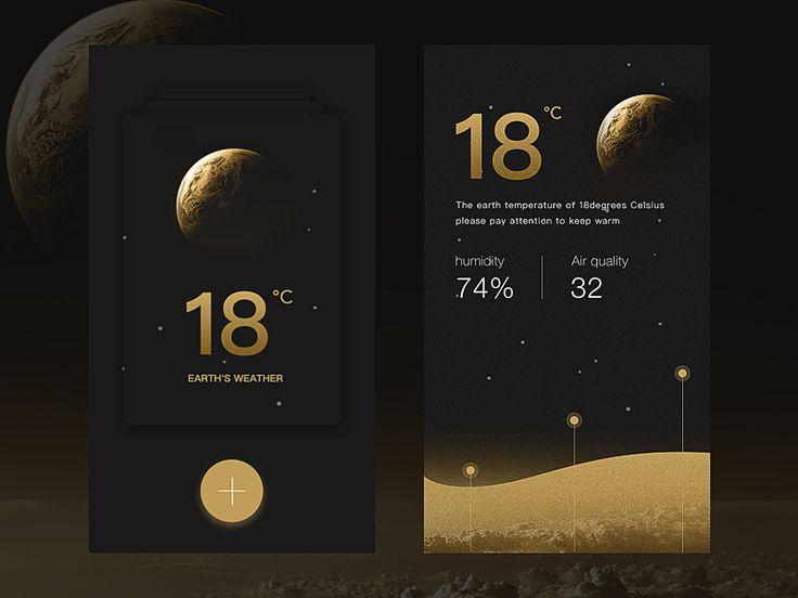 Day49 - Weather App Design