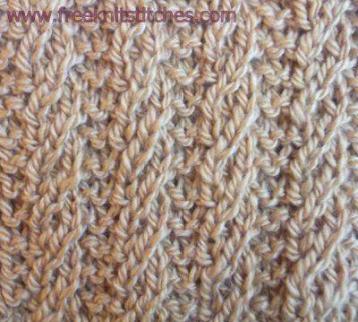 Twisted Stitch Knitting Patterns : 17 best Knit Stitches Dictionary images on Pinterest Knitting stitches, Sti...