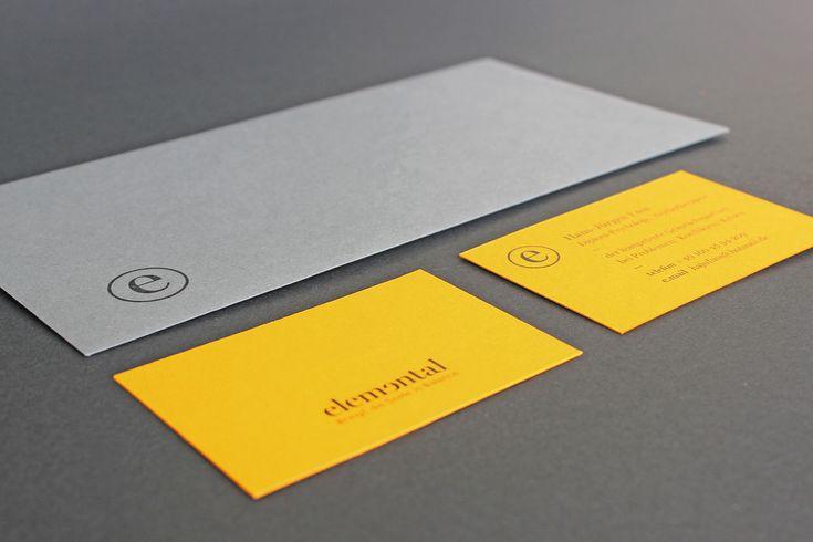 CI für eine psychologische Praxis: Elemental; Print; Flyer, Format: A4/ Wickelfalz; Visitenkarte, Format: 8,5 x 5,5 cm; Briefpapier: A4; Briefumschlag: DIN Lang; Designer Vitaliy Guryn