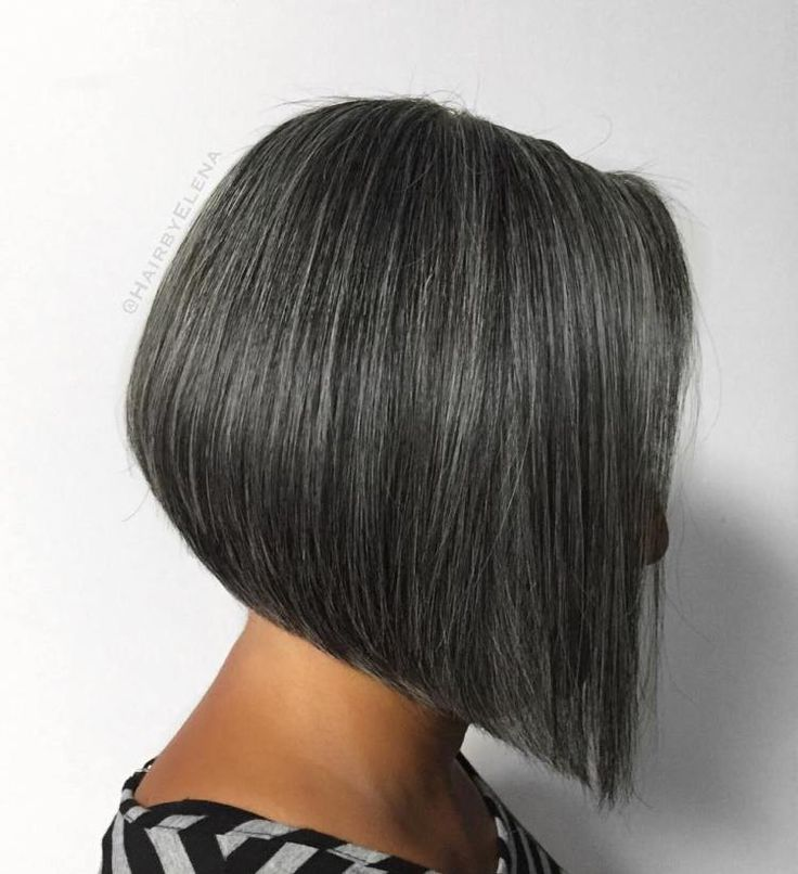 60 Gorgeous Gray Hair Styles Short Hair Pinterest