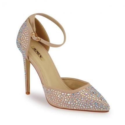 Hübsche Spangenpumps, günstige Alternative zu Kerry Washington's Schuhe #affordable #sparkly #oscars2014 #jepo #shoes