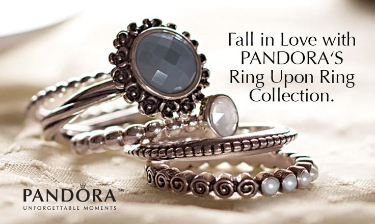PANDORA's Ring Upon Ring Collection