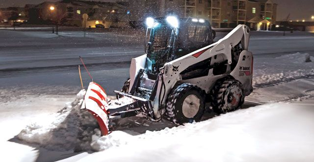 Five Steps to Keep Your Skid Steer Loader from Taking a Snow Day #construction #compact
