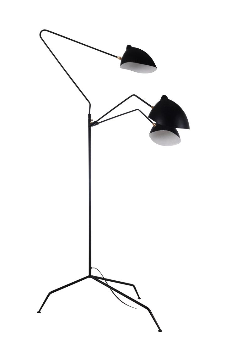 Serge Mouille MFL-3 Floor Lamp Reproduction- considering the fact that the real thing costs $7,000+  - not bad...