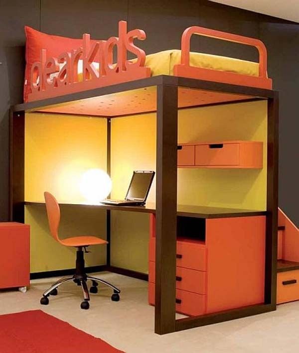 best kids bedroom decorating idea by Dearkids 3