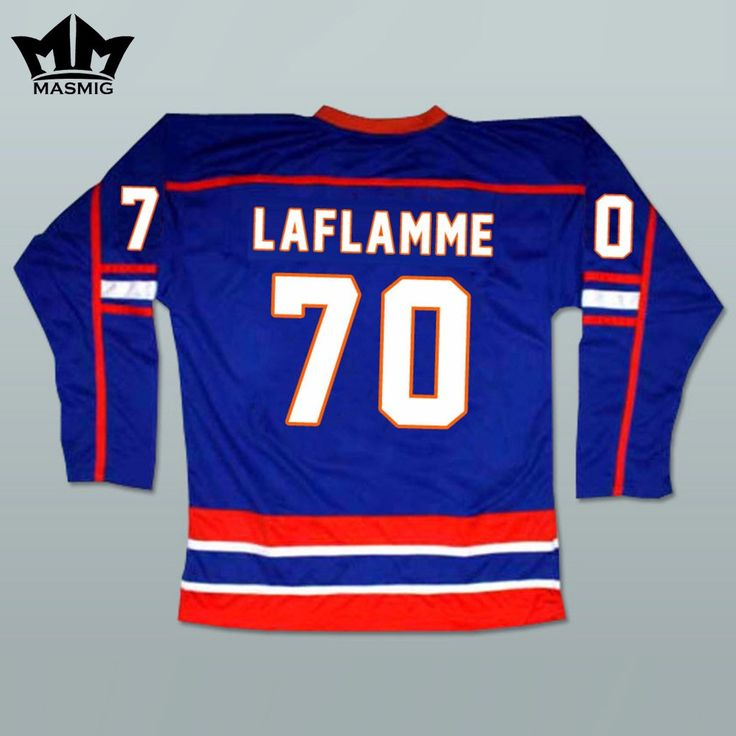 MM MASMIG Goon Xavier LaFlamme 70 Halifax Hockey Jersey Blue For Free Shipping S M L XL XXL XXXL