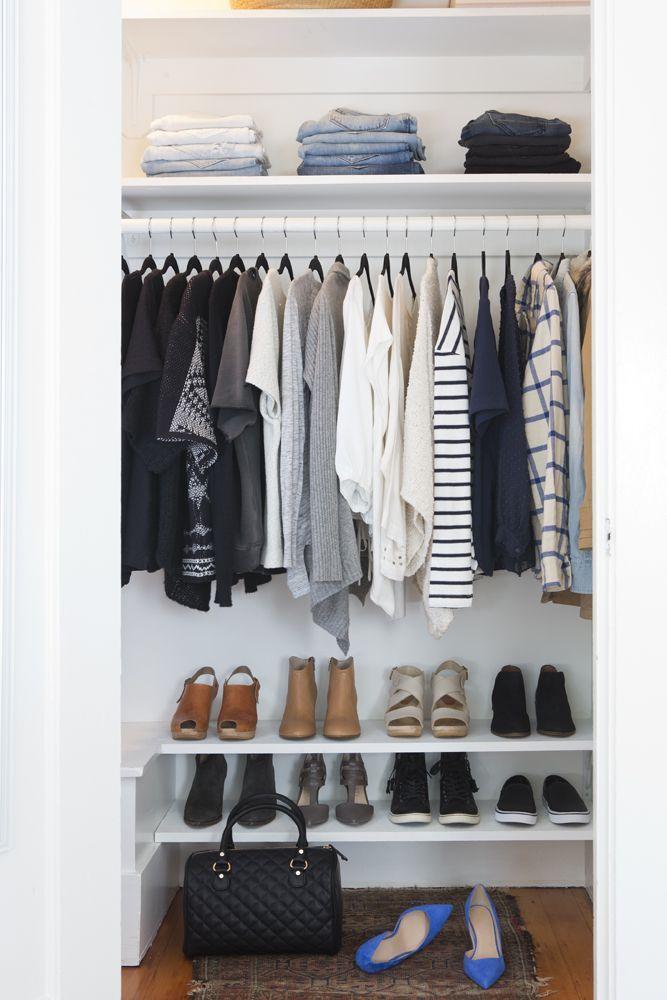 17 minimalistische Kleiderschränke, die Sie dazu …