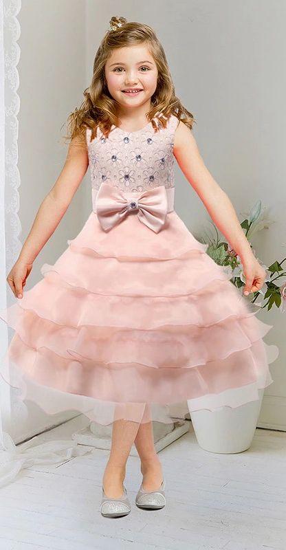 Mejores 23 imágenes de Kid Dresses en Pinterest | Vestidos de la ...
