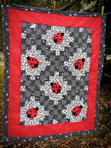 1000+ images about Quilt Irish Chains on Pinterest | English paper ... : irish chain baby quilt pattern - Adamdwight.com