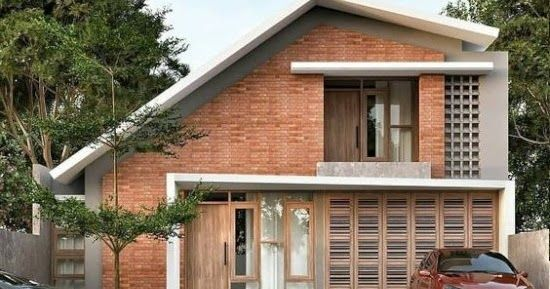 Referensi Terbarau 33 Foto Inspiratif Rumah Bata Merah Minimalis Modern Siapa Yang Tak Mengenal Bahan Yang Satu Ini Batu Rumah Rumah Batu Membangun Rumah