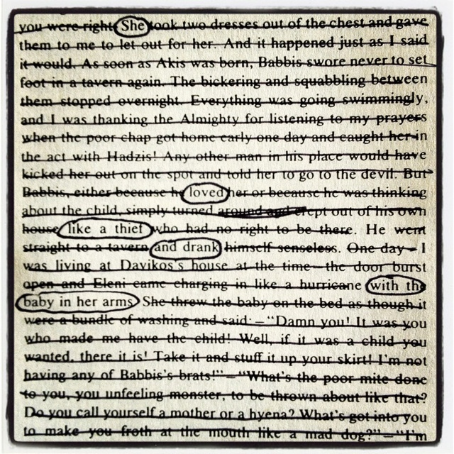 Why erasure poetry deserves to be studied