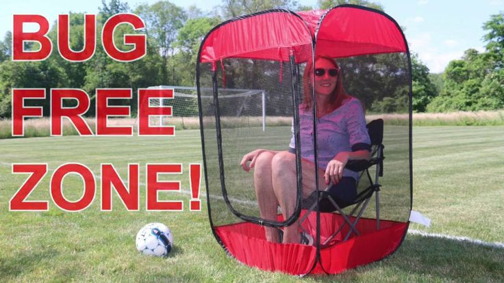 Screen Pod, A Personal Pop-Up Screen Tent That Provides Shade and Protects You From Insects