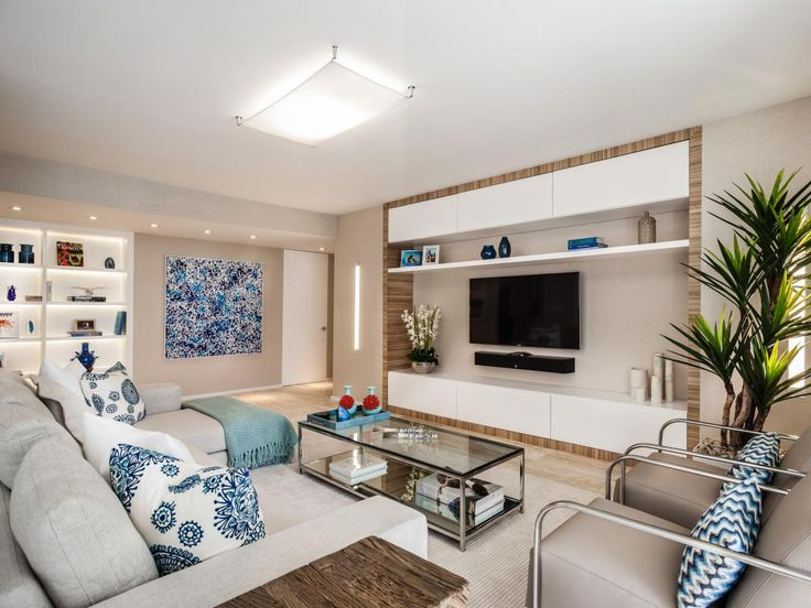 Entertainment centers have been getting more minimalistic in the past few years, but what if you have things to display? Check out these seven wall units that help you store your stuff in style.
