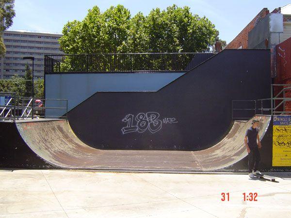 indoor skate park halfpipe - Google Search
