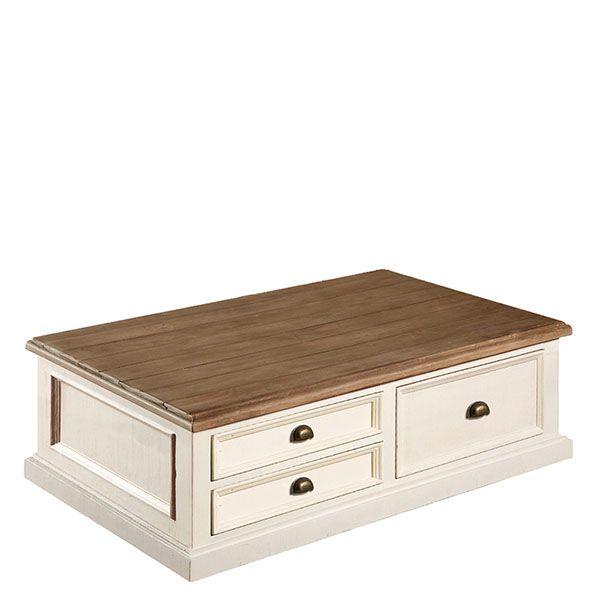 The Carisbrooke Box Coffee Table   Reclaimed Wood Coffee Table