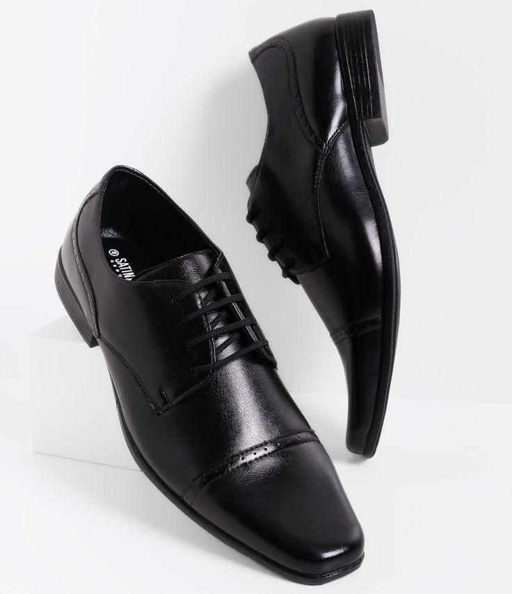 Sapato masculino  Material: sintético  Modelo social  Marca: Satinato Genuine       COLEÇÃO VERÃO 2016     Veja outras opções de    sapatos masculinos.
