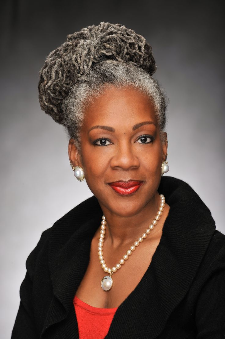 Best Older African American Women Hairstyles Images On Pinterest - Silver hair styles