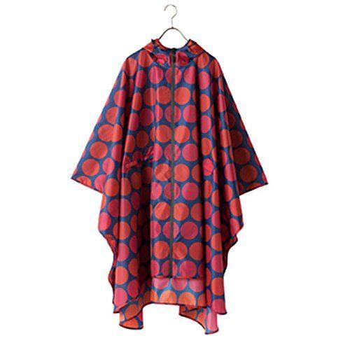 KIU レインポンチョ 2015 キウ ワールドパーティ W.P.C WPC レインコート レイングッズ レインウェア メンズ レディース ユニセックス 男女兼用 rg000022 (K15-048-COLORDOTLINE) : Amazonファッション通販 | Amazon.co.jp