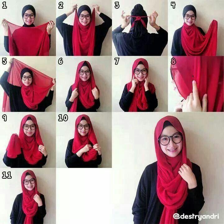 Long & wide shawl