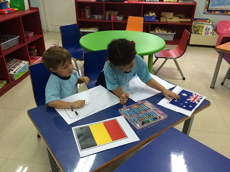 Learning about world flags