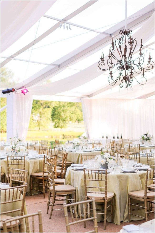 Blush and green centerpiece by Sidra Forman Flowers | Clear white tent by Sugar Plum Tents with chandelier | Elegant and luxury design by DB3 Design | Catering by Susan Gage Catering | Ana Isabel Martinez Chamorro associate photographer for Mike Buscher Photography