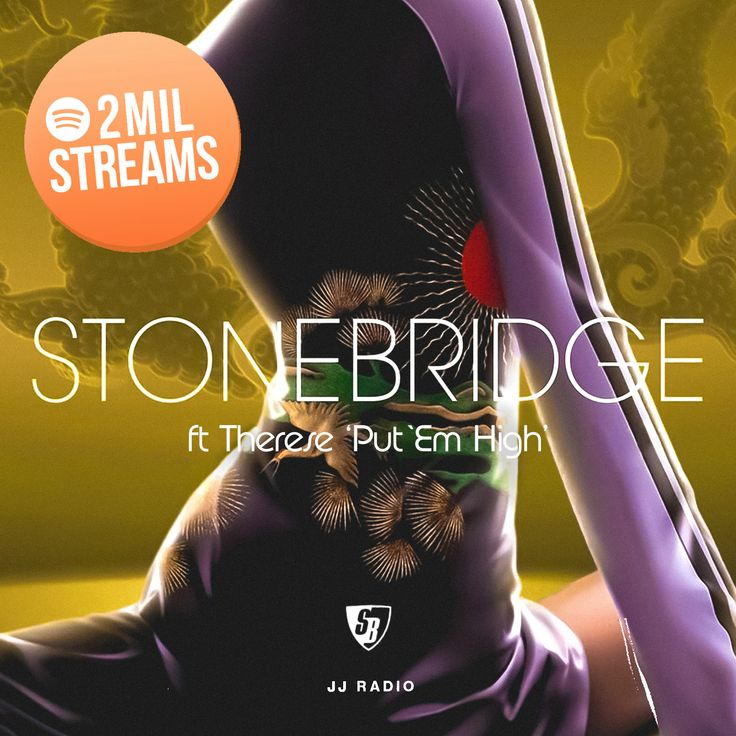 Amazing new year news with Put 'Em High (JJ Radio) giving me and my label Stoney Boy Music our first 2 million streams on one song - thanks for the love and thank you JJ for a timeless remix! https://open.spotify.com/track/02K1XeSDdjuwbO5Sj5R2nM #stonebridge #therese #jj #putemhigh #stoneyboymusic #house