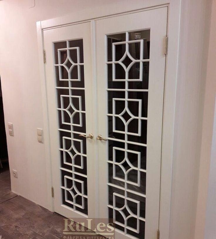 Двустворчатые #двери #межкомнатные #рулес #интерьер #дизайн