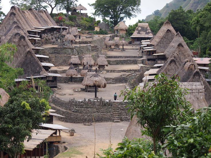 Bena Village, Flores - Indonesia