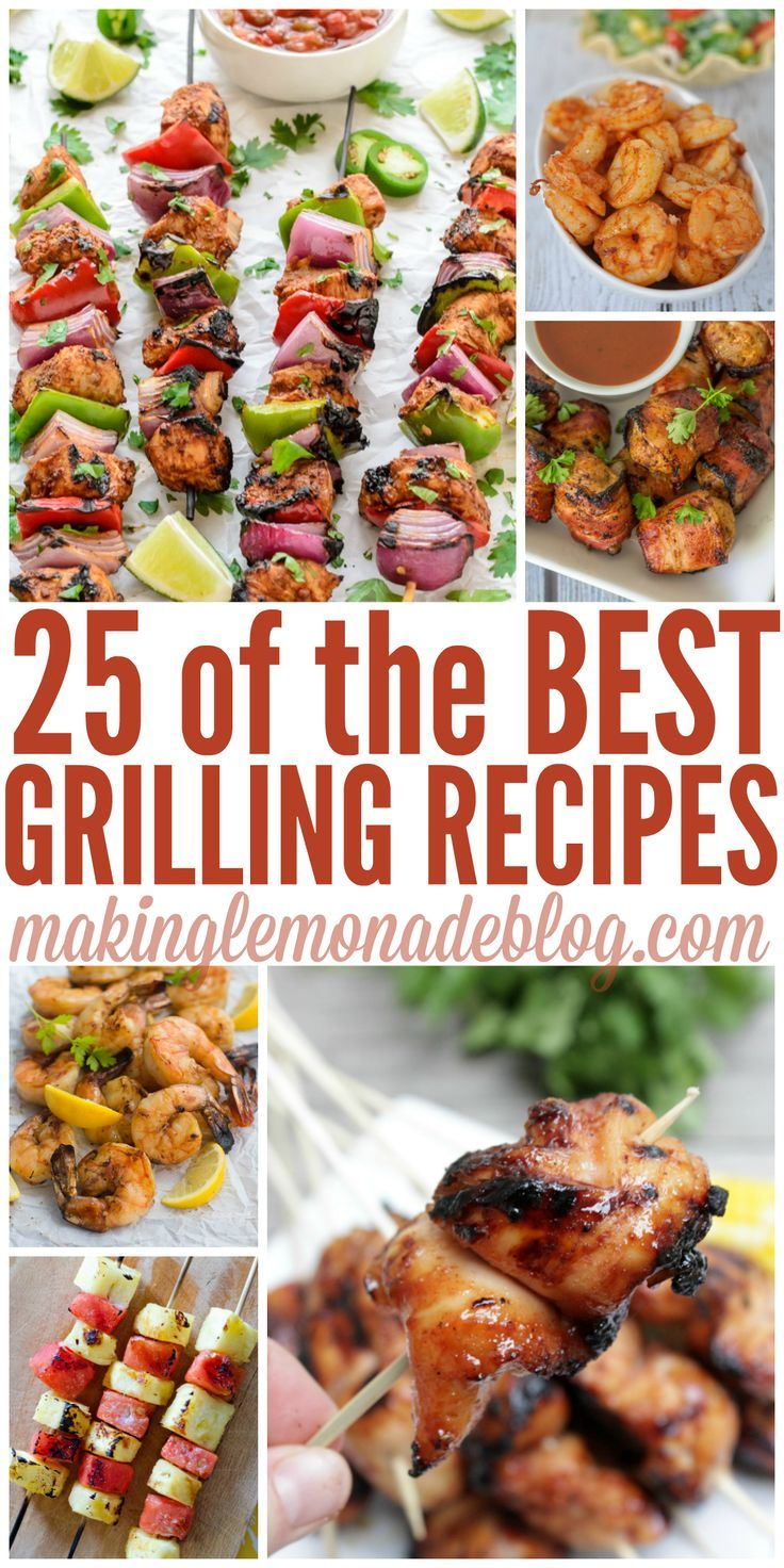 these are the best grilling recipes out there-- can't wait for summer! 25 Best Summer Grilling Recipes
