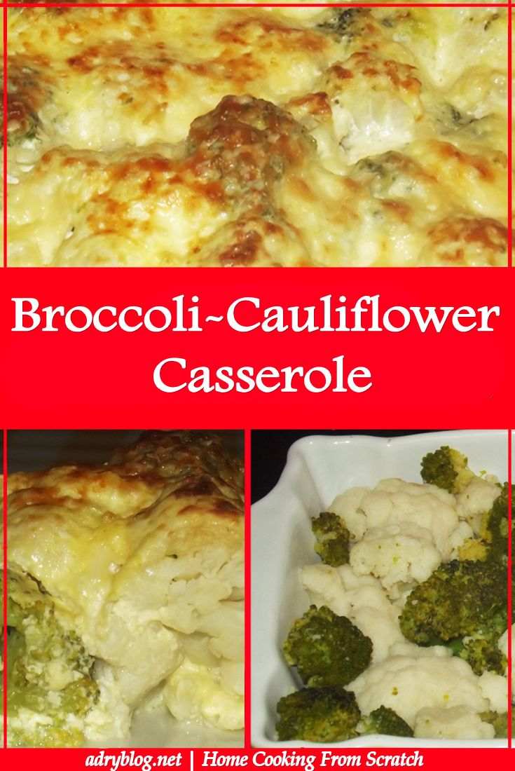 Learn how to cook broccoli & cauliflower casserole. A homemade, quick recipe from scratch the whole family will enjoy! See how easy it is to prepare it!