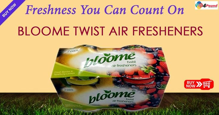 Shop now for Bloome Twist Air Fresheners at #4pound store.Get 50% Discount Buy Now: http://www.4pound.co.uk/bloome-twist-air-fresheners
